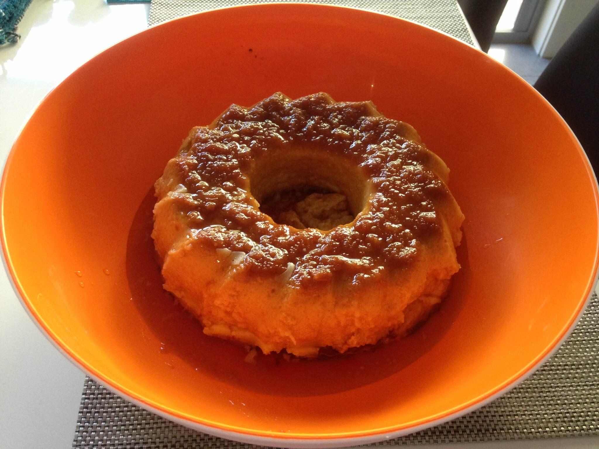 Budin de Pan- Uruguayan bread Pudding